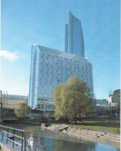 Oslo Plaza - utbyggers forslag