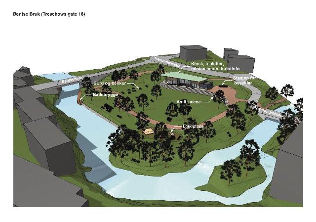 Slik kan Treschows gate 16 bli i 2020.