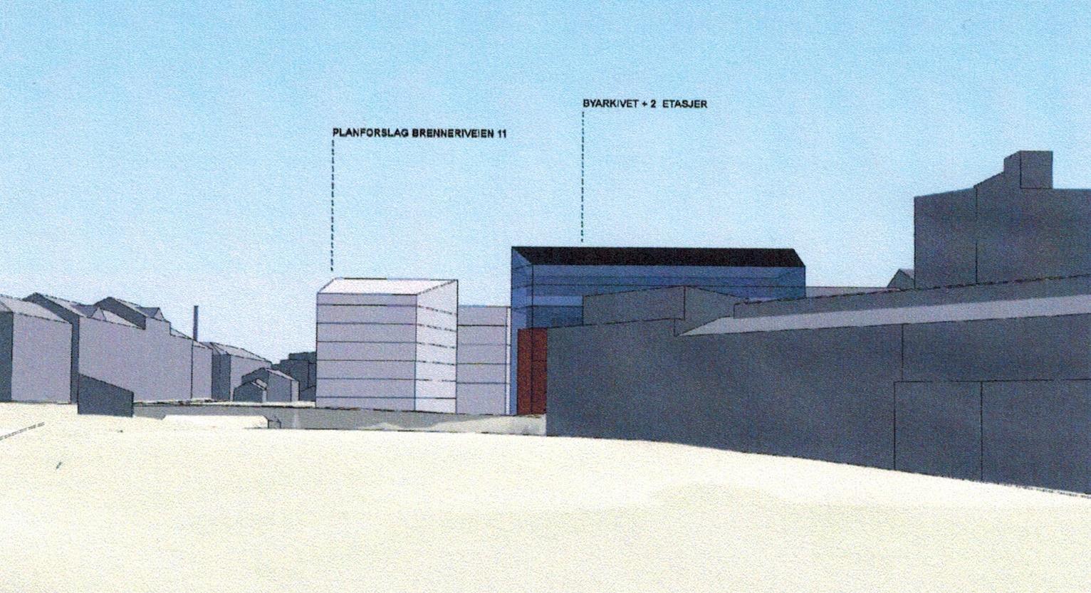 Maridalsveien 3 - Påbygg Byarkivet