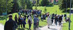 Akerselva-maraton i fjor. FOTO: SIRIL BULL HENSTEIN / OSLO MUSEUM