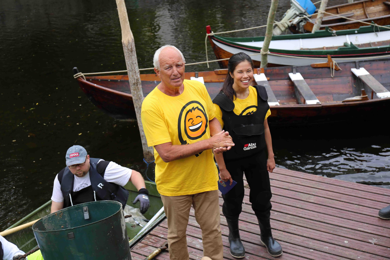 Jan Hauger og byråd Lan Marie Berg.