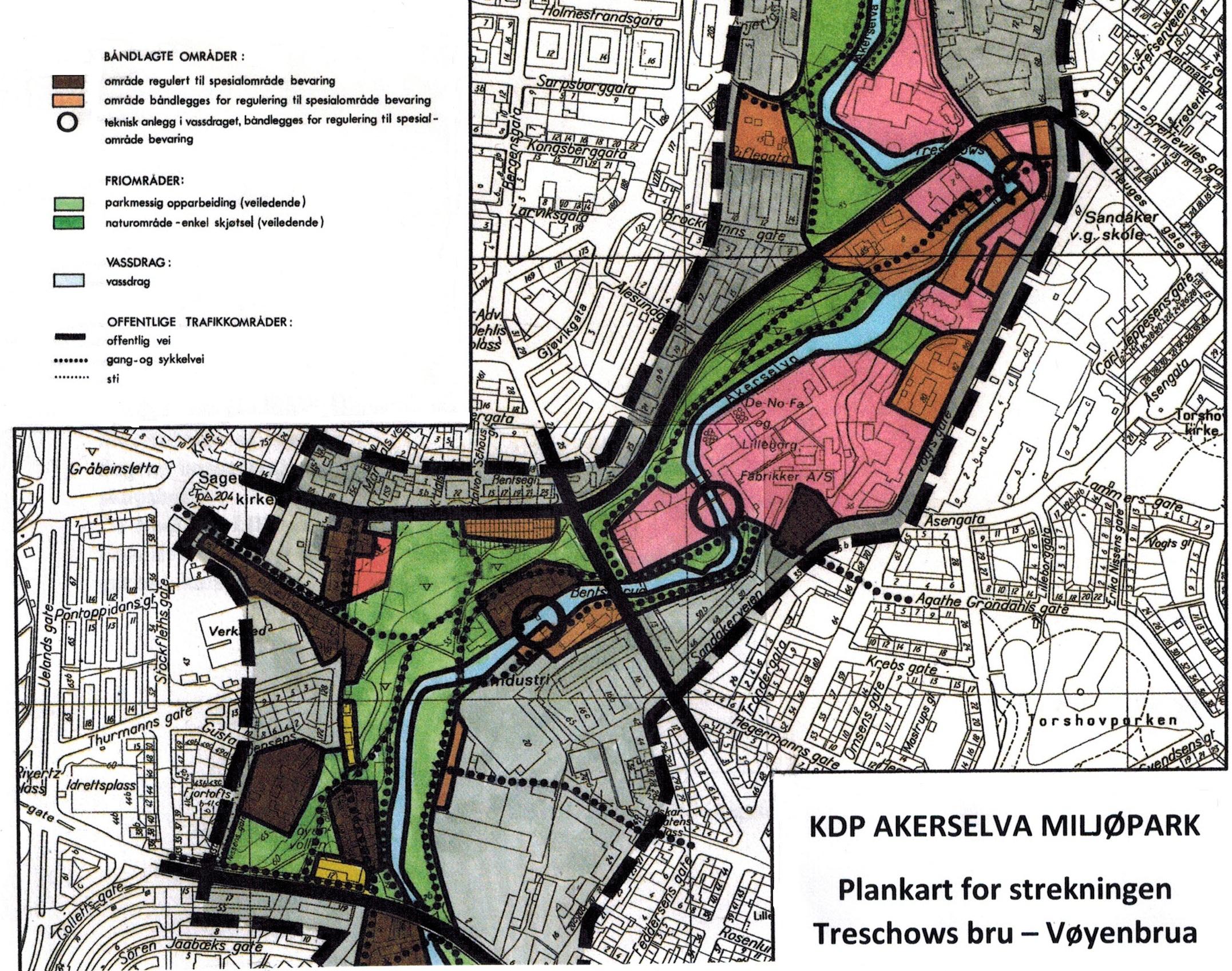 Lilleborg - KPD-plankart